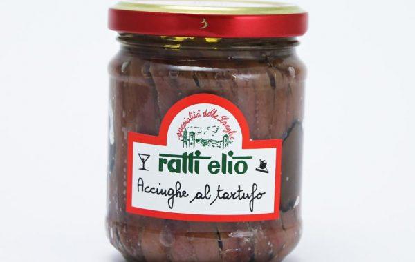 Acciughe al tartufo in vendita da Tartufi Ratti