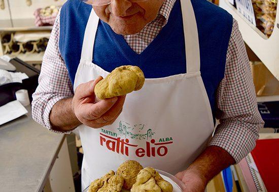 Vendita tartufi al centro d'Alba